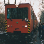 Dezember 1999 Stromschienenmessung