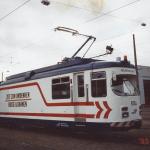 Februar 1995 Fahrleitungsmessung