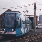 Juli 2000 Fahrleitungsmessung