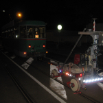 Mai 2018 Lichtraumprofil- und Gleismittenabstandsmessung