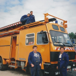Mai 1994 Fahrleitungsmessung