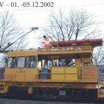 Mai 2002 Fahrdrahtverschleissmessung