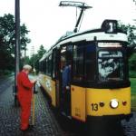 August 1999 Fahrleitungsmessung