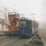 Januar 1999 Fahrleitungsglattschleifsystem